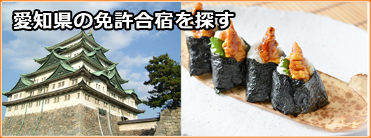 愛知県の免許合宿を探す