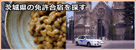 茨城県の免許合宿を探す